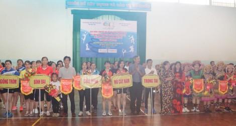 Khai mạc Giải Bóng chuyền hơi nữ vô địch tỉnh Bến Tre năm 2020