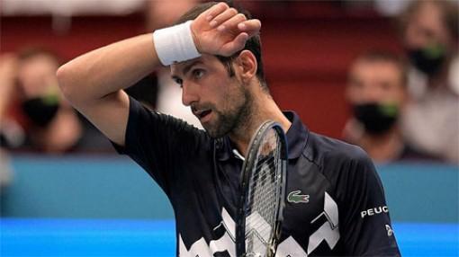 Djokovic bị loại ở tứ kết Vienna Mở rộng 2020, Dominic Thiem và Daniil Medvedev chung số phận