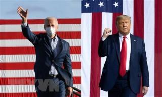 Bầu cử Mỹ 2020: Hai ứng cử viên tổng thống tăng tốc đua nước rút