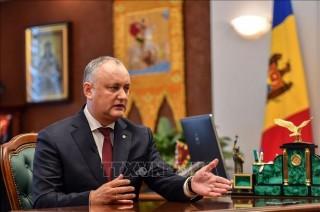 Bầu cử tổng thống Moldova: Tổng thống Igor Dodon tạm dẫn đầu