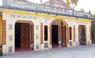 Đình Hương Mỹ được xếp hạng di tích lịch sử - văn hóa cấp tỉnh