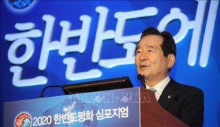 Chủ tịch Quốc hội Hàn Quốc tiếp Chủ tịch Nhóm Nghị sỹ hữu nghị Việt Nam-Hàn Quốc