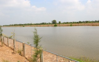 Ưu tiên giải pháp trữ nước ngọt phục vụ mùa hạn mặn