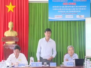 Hội nghị chuyên đề về xây dựng chính quyền điện tử