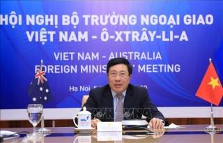 Hội nghị Bộ trưởng Ngoại giao thường niên Việt Nam - Australia lần thứ hai