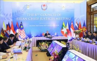 Chánh án Nguyễn Hòa Bình được bầu làm Chủ tịch Hội đồng Chánh án các nước ASEAN