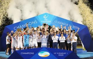 Viettel đăng quang vô địch V. League 2020