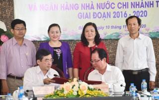 Sơ kết 5 năm thực hiện Kế hoạch phối hợp công tác giữa Ban Dân vận Tỉnh ủy với Ngân hàng Nhà nước Chi nhánh Bến Tre