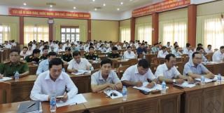 Châu Thành học tập, quán triệt Nghị quyết Đại hội Đảng bộ huyện lần thứ XII, nhiệm kỳ 2020 - 2025