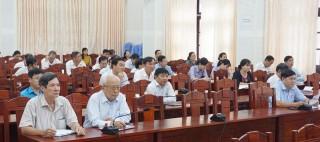 Hội nghị báo cáo viên trực tuyến toàn quốc