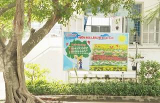 """Trường Tiểu học Thị trấn Giồng Trôm """"xanh - sạch - năng động"""""""