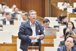 Đại biểu Quốc hội đơn vị tỉnh Bến Tre thảo luận dự án Luật Giao thông đường bộ (sửa đổi)