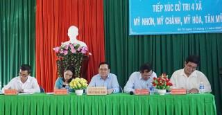 Đại biểu HĐND tỉnh tiếp xúc cử tri tại Ba Tri