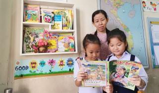 Tủ sách tại lớp khuyến đọc cho học sinh