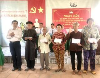 Ngày hội Đại đoàn kết toàn dân tộc ở khu dân cư ấp Thạnh Lợi, xã Thạnh Phong