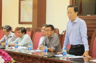 Phó chủ tịch UBND tỉnh Nguyễn Trúc Sơn làm việc với đoàn chuyên gia Dự án JICA3