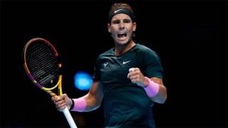 Nadal vào bán kết ATP Finals lần đầu sau 5 năm