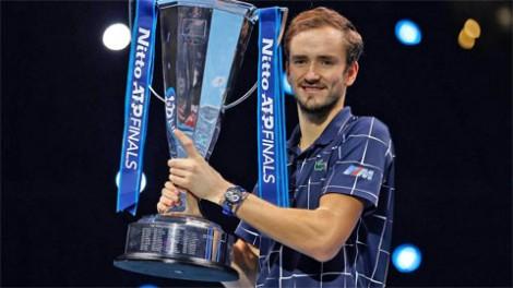 Daniil Medvedev vô địch ATP Finals 2020