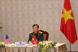 Đối thoại Chính sách quốc phòng Việt Nam - Hoa Kỳ năm 2020 theo hình thức trực tuyến