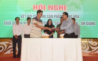 Siêu thị Tứ Sơn hợp tác tiêu thụ sản phẩm với doanh nghiệp tỉnh