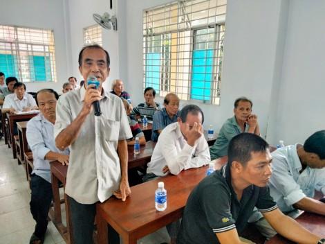 Chủ tịch HĐND tỉnh Phan Văn Mãi tiếp xúc cử tri xã Phước Long