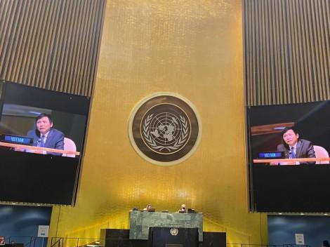 Đại hội đồng Liên hợp quốc thông qua Nghị quyết về hợp tác ASEAN - Liên hợp quốc