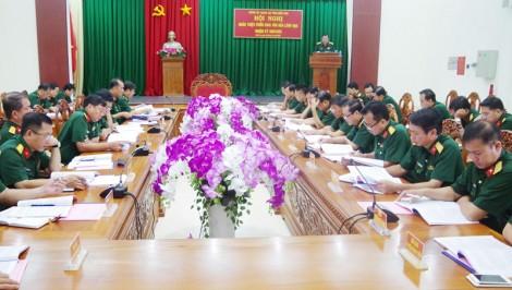 Đảng ủy Quân sự tỉnh quán triệt các văn bản nhiệm kỳ 2020 - 2025