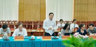Tổng kết cụm thi đua MTTQ Việt Nam các tỉnh Bắc Sông Hậu năm 2020.