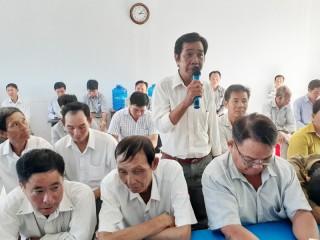 Đại biểu Quốc hội tỉnh tiếp xúc cử tri sau kỳ họp thứ 10 Quốc hội khóa XIV