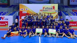 Thắng nghẹt thở S.Khánh Hòa, Thái Sơn Nam vô địch futsal HDbank Cúp QG 2020