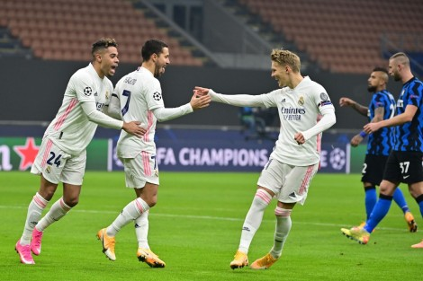 Inter Milan thua thảm Real Madrid
