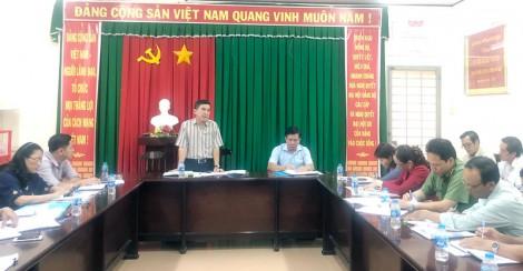 Ban Dân vận Tỉnh ủy kiểm tra công tác tôn giáo ở huyện Châu Thành
