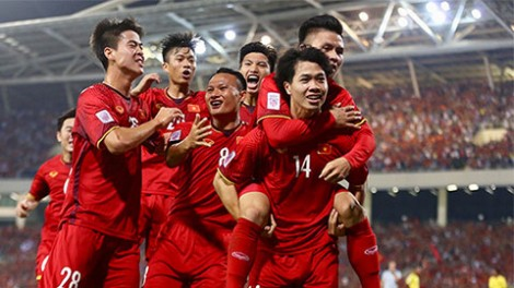 BXH FIFA: Đội tuyển Việt Nam đứng hạng 93 thế giới