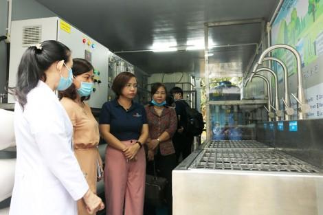Bàn giao hệ thống lọc RO cho Bệnh viện Nguyễn Đình Chiểu