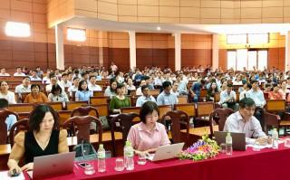 Tập huấn kiểm tra đánh giá theo định hướng phát triển năng lực học sinh cấp THCS năm học 2020-2021