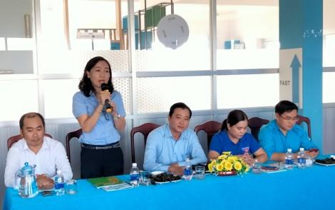 Tham quan mô hình khởi nghiệp trong thanh niên giữa Tỉnh Đoàn Bến Tre và Tỉnh Đoàn Bà Riạ - Vũng Tàu