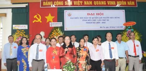 Bà Nguyễn Thị Kiều Oanh giữ chức Chủ tịch Hội Bảo vệ quyền lợi người tiêu dùng tỉnh