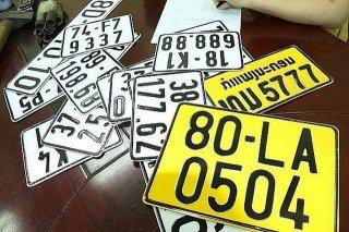 Tuân thủ quy định khi đổi biển số xe từ màu trắng sang màu vàng