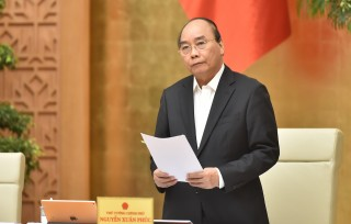 Chính phủ họp phiên thường kỳ tháng 11-2020