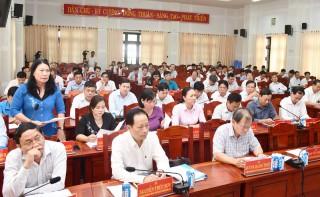 Thông báo kết quả Hội nghị lần 3 Ban Chấp hành Đảng bộ tỉnh khóa XI