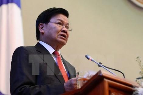Thủ tướng Lào đồng chủ trì Kỳ họp Ủy ban liên Chính phủ Việt-Lào