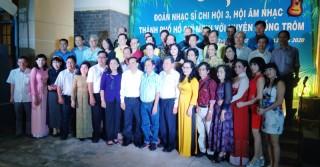 Hội Nhạc sĩ TP. Hồ Chí Minh có chuyến sáng tác thực tế tại huyện Giồng Trôm