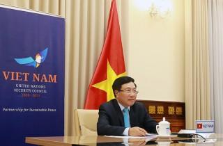 Phó thủ tướng Phạm Bình Minh tham dự thảo luận cấp cao tại Liên hợp quốc