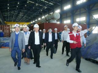 Phó Thủ tướng Thường trực đốc thúc tiến độ Nhiệt điện Thái Bình 2