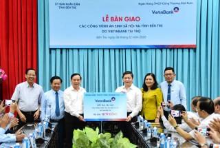 VietinBank bàn giao các công trình an sinh xã hội tại tỉnh