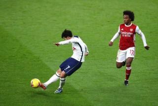 Son - Kane thăng hoa, Tottenham đè bẹp Arsenal để chiếm đỉnh Premier League