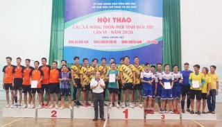 Bế mạc vòng chung kết hội thao các xã nông thôn mới