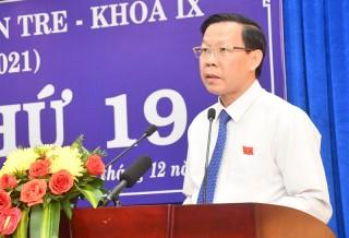 Khai mạc Kỳ họp thứ 19 HĐND tỉnh, khóa IX