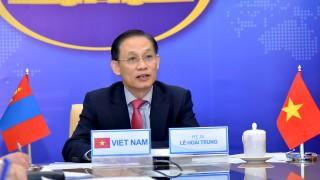 Tham khảo Chính trị cấp Thứ trưởng Ngoại giao Việt Nam-Mông Cổ lần thứ 9