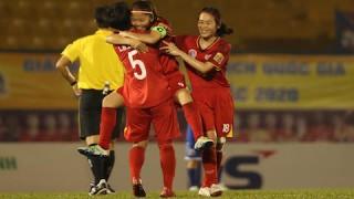 Vòng 13 giải bóng đá nữ VĐQG – Thái Sơn Bắc 2020: TP.HCM I sớm lên ngôi vô địch